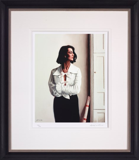 Edinburgh Afternoon by Jack Vettriano - Framed Limited Edition on Paper